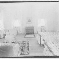 Cremona, Major Davidson's residence in Mechanicsville, Maryland by Schuyler & Lounsbery. Bedroom of Cremona II