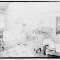 Cremona, Major Davidson's residence in Mechanicsville, Maryland by Schuyler & Lounsbery. Living room of Cremona II