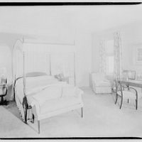 Cremona, Major Davidson's residence in Mechanicsville, Maryland by Schuyler & Lounsbery. Bedroom of Cremona IV