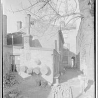Dr. Craik's house in Alexandria. Exterior of Dr. Craik's house