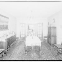 Dr. Oden, office and residence. Dr. Oden's dining room I