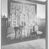 Dr. Oden, office and residence. Dr. Oden's sitting room II