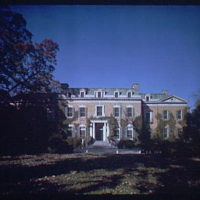 Dumbarton Oaks. Exterior of Dumbarton Oaks I