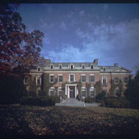 Dumbarton Oaks. Exterior of Dumbarton Oaks II