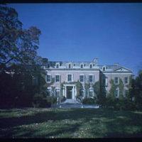 Dumbarton Oaks. Exterior of Dumbarton Oaks III