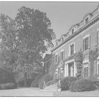 Dumbarton Oaks. Exterior of Dumbarton Oaks V