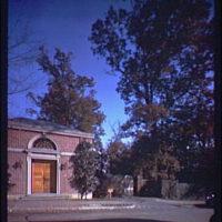 Dumbarton Oaks. Gate at Dumbarton Oaks on R St. NW