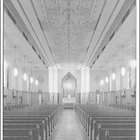 Dunbarton College. Chapel interior at Dunbarton College III