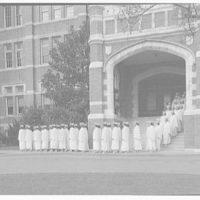 Dunbarton College. Graduation exercises at Dunbarton College I