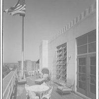 Editors (Kiplinger) Building. Deck on roof of Editors (Kiplinger)  Building I