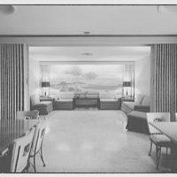 Editors (Kiplinger) Building. Dining room and lounge in Editors (Kiplinger) Building