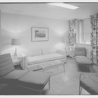 Editors (Kiplinger) Building. Room with couches and chaises in Editors (Kiplinger) Building