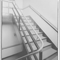 Editors (Kiplinger) Building. Stairwell in Editors (Kiplinger) Building II