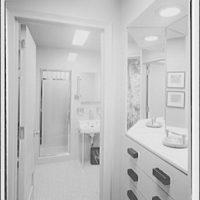 Editors (Kiplinger) Building. Washroom in Editors (Kiplinger) Building III