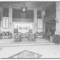 Electric Institute of Washington. Display of radios on first floor I