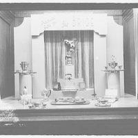 Electric Institute of Washington. June bride display on first floor III
