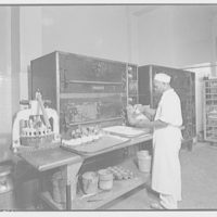 Electric Institute of Washington. Kitchen and bake room at Trinity College I