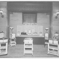 Electric Institute of Washington, Potomac Electric Power Co. Building. Appliances display, Electric Institute IX