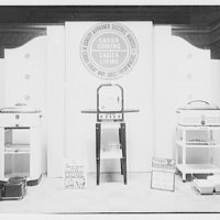 Electric Institute of Washington, Potomac Electric Power Co. Building. Appliances display, Electric Institute VII