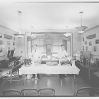 Electric Institute of Washington, Potomac Electric Power Co. Building. Commercial electric cooking appliances, made for PEPCO on 4th floor
