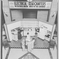 Electric Institute of Washington, Potomac Electric Power Co. Building. Cooking demonstration