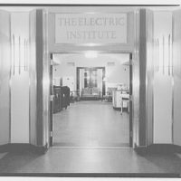 Electric Institute of Washington, Potomac Electric Power Co. Building. Electric Institute entry I