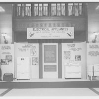 Electric Institute of Washington, Potomac Electric Power Co. building. January display of ranges and refigerators
