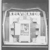 Electric Institute of Washington, Potomac Electric Power Co. Building. Kelvinator display