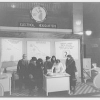 Electric Institute of Washington, Potomac Electric Power Co. Building. Kitchen demonstration, first floor I
