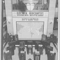 Electric Institute of Washington, Potomac Electric Power Co. Building. Radio display and map