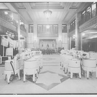 Electric Institute of Washington, Potomac Electric Power Co. building. Store interior of washers