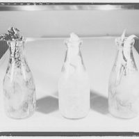Electric Institute of Washington, Potomac Electric Power Co. Building. Vegetables in milk bottles III