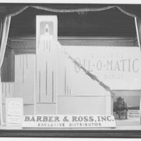 Electric Institute of Washington, Potomac Electric Power Co. Building. Window of Oil-o-matic oil burner, Barber & Ross, Inc.