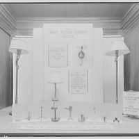 Electric Institute of Washington, Potomac Electric Power Co. Window lamps display
