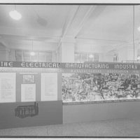 Electric Institute of Washington. Wall display for the electrical manufacturing industry II
