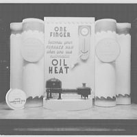 Electric Institute of Washington. Window display for oil heat I