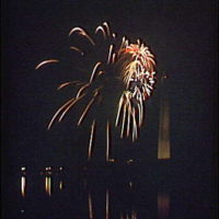 Fireworks. Fireworks at Washington Monument II