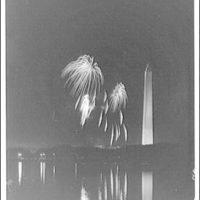 Fireworks. Fireworks from across Tidal Basin IV