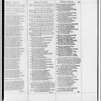 Folger Library copy work. Page from English edition of Psalms I