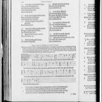 Folger Library copy work. Page from English edition of Psalms II