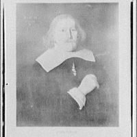 Folger Library copy work. Portrait of John Lowin