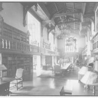 Folger Library interiors. Folger Library from east end II