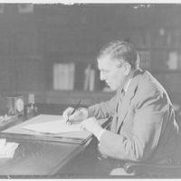 Folger Library. Mr. Slade, librarian at Folger Library III