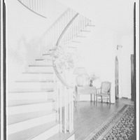 Foxcroft School, Middleburg, Virginia. Spiral stairway and hall at Foxcroft School I