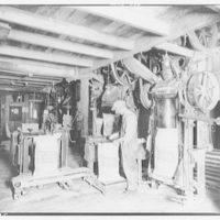 Freedom Gas Distillery. Men working
