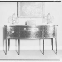 Furniture and other home furnishings. Bureau