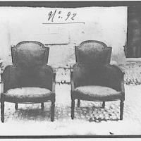 Furniture and other home furnishings. Two chairs II