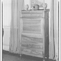 Furniture. Desk cabinet, closed