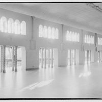 Glen Echo amusement park. Ballroom from river side, Glen Echo