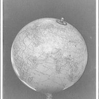 Globe of the world. Asia and Africa III